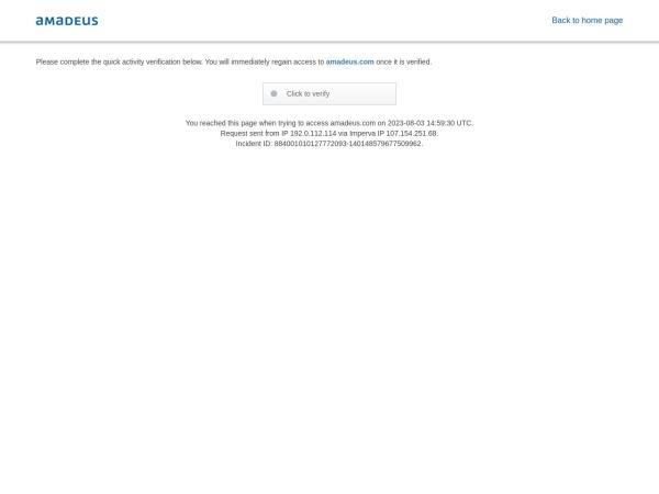 AMADEUS SOLUCIONES TECNOLOGICAS S.A. - programación webs