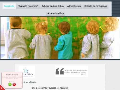 Opiniones sobre  Escuela Infantil Aire Libre