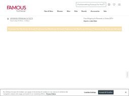 Famous Footwear screenshot
