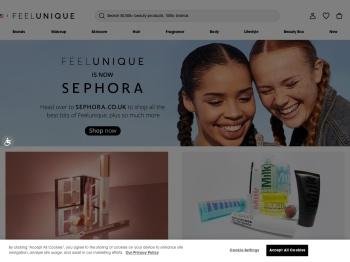 Feelunique 50% Summer Sale