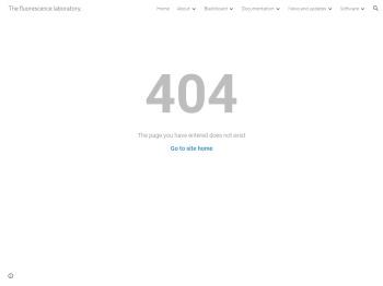 Blackboard - The fluorescence laboratory. - DecayFit