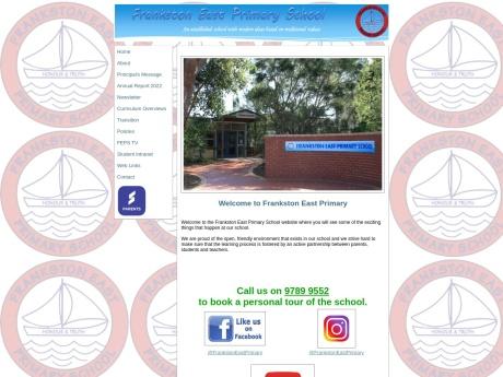 Frankston East Primary School Website