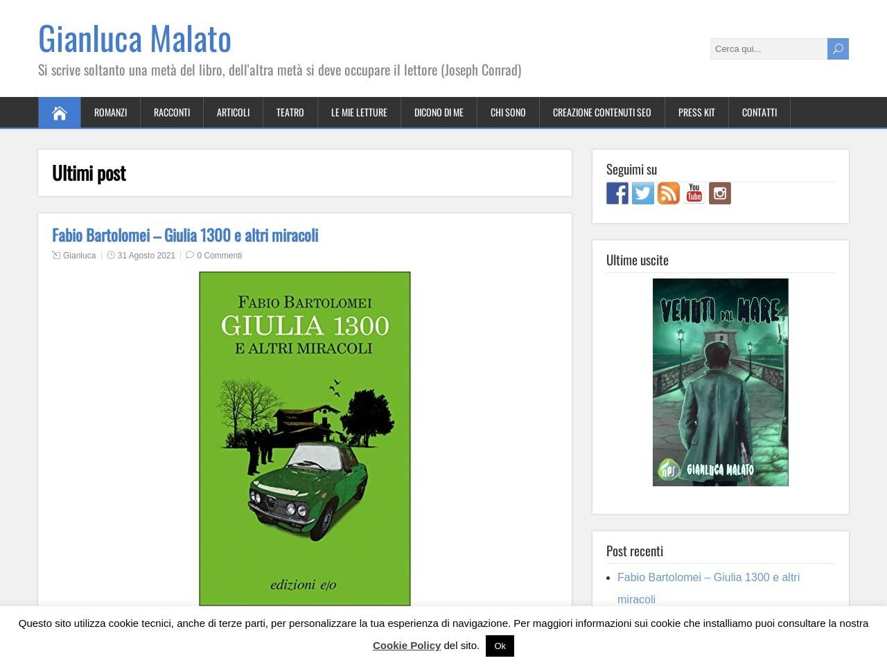 home-page-di-gianluca-malato