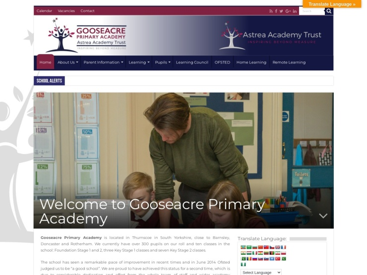 Gooseacre Primary Academy reviews and contact