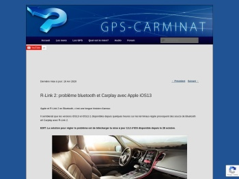 R-Link 2: problème Bluetooth et Carplay avec Apple iOS13 ...