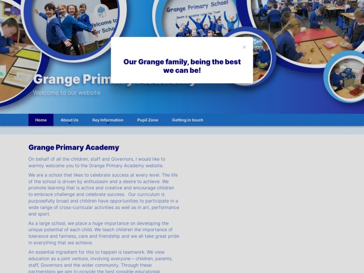 Grange Primary School reviews and contact