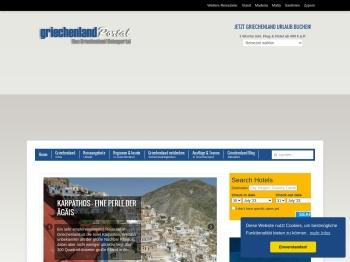 Griechenland-Portal.de: Urlaub in Griechenland