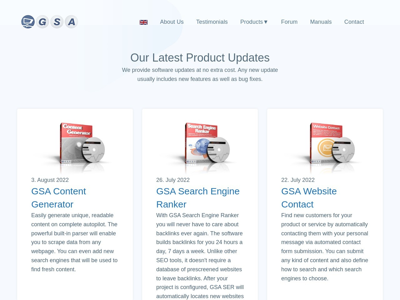 GSA Software