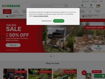 Homebase Half Price Summer Sale