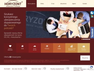 Ubezpieczenia i inwestycje - HORYZONT - Biała Podlaska - OC, AC
