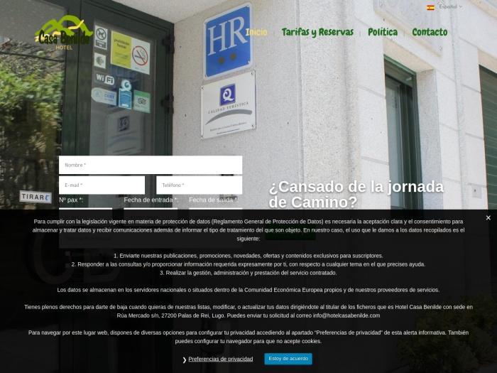 Opiniones sobre HOTEL CASA BENILDE