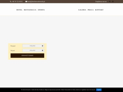 HOTEL NOWODWORSKI - Nocleg i restauracja Legnica