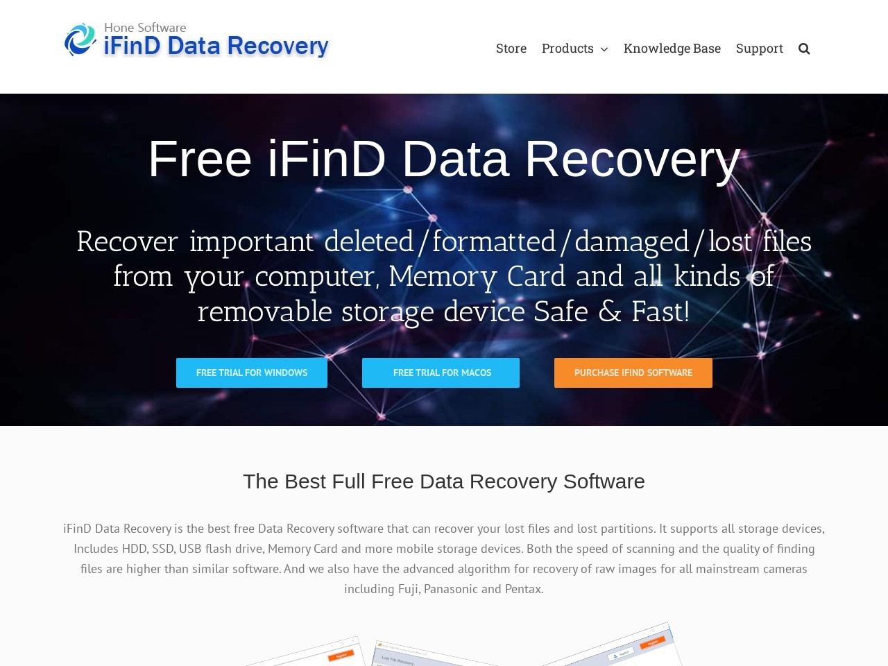 iFinD Software