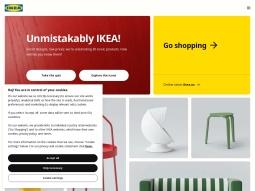 capture d'écran IKEA