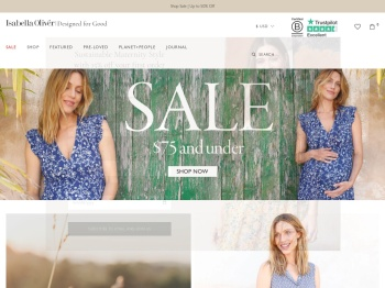 Isabella Oliver 50% off end of season sale