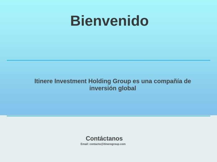 Opiniones sobre Itinere Group