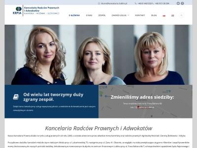 Adwokat, porady prawne, odszkodowania, prawnik - Lublin - Kancelaria Radców Prawnych