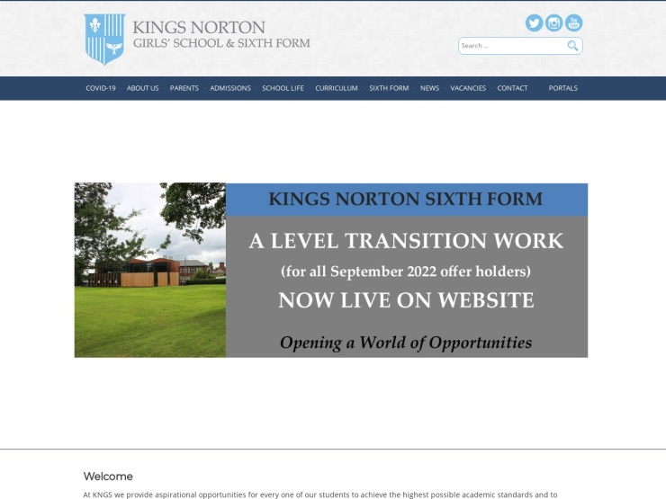 Kings Norton Girls' School reviews and contact