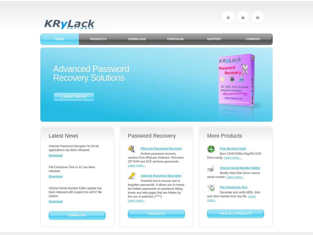 KRyLack Software