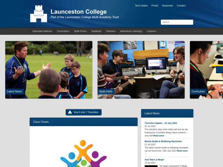 Launceston College reviews and contact