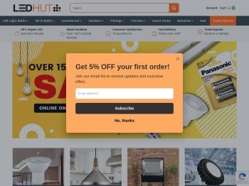 LED Hut 30% Black Friday Sale