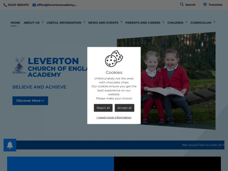 Leverton Church of England Academy reviews and contact