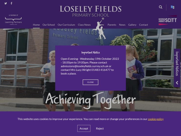 Loseley Fields Primary School reviews and contact