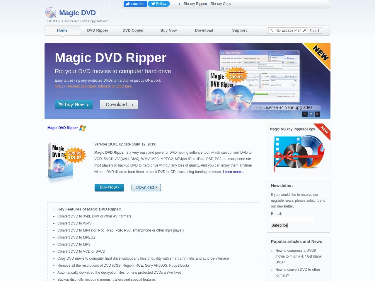 Magic DVD Software