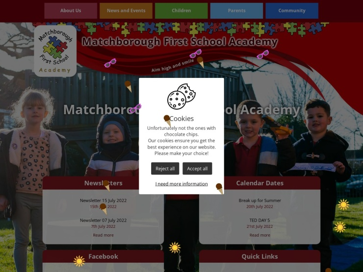 Matchborough First School reviews and contact