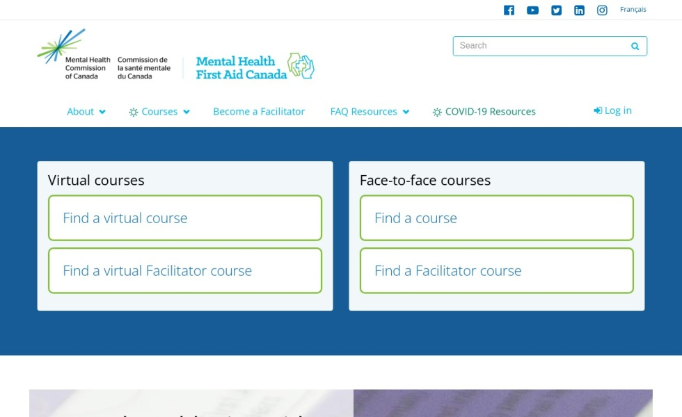 Mental Health First Aid Canada