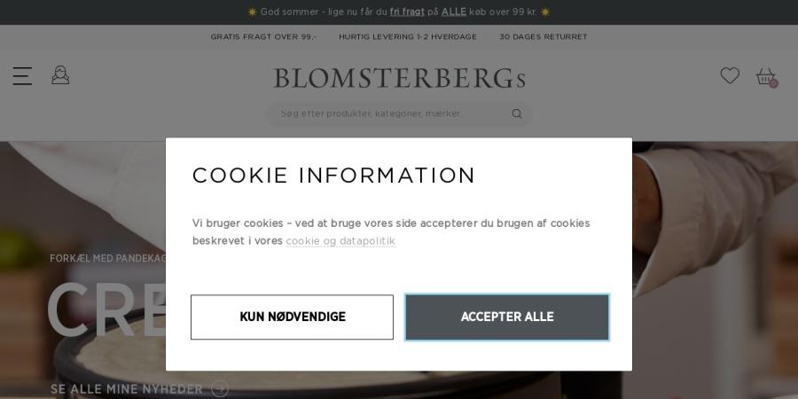Mette Blomtserbergs webshop