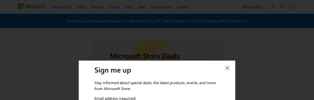 Microsoft Store Canada Coupons