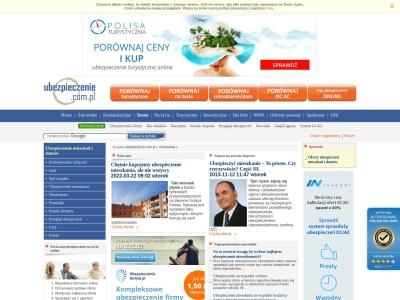 Ubezpieczenie mieszkania i domu - Ubezpieczenie.com.pl