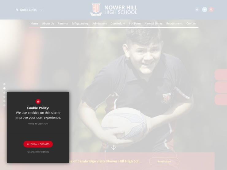 Nower Hill High School reviews and contact