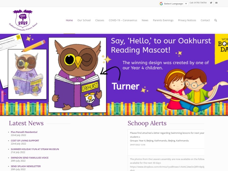 Oakhurst Community Primary School reviews and contact