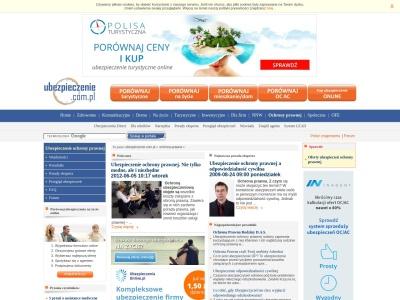 Ubezpieczenie ochrony prawnej - Ubezpieczenie.com.pl