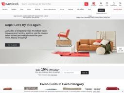 screenshot overstock Electronics