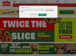 PapaJohns Coupon and Promo codes