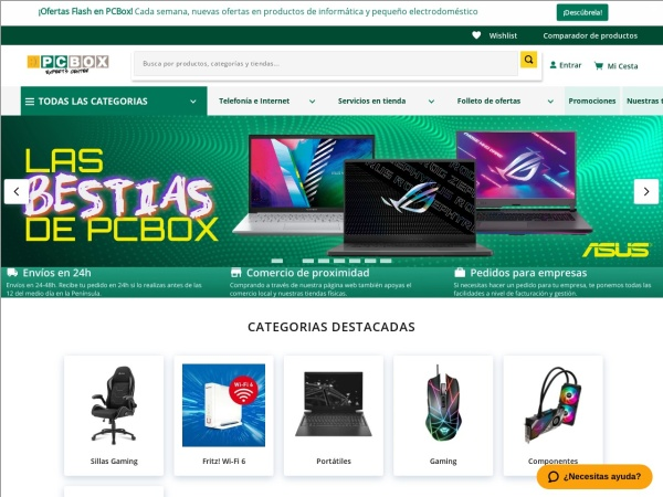 PCBOX HUESCA - Opiniones de clientes -