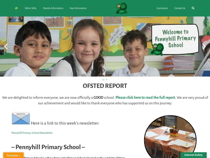 Pennyhill Primary School reviews and contact