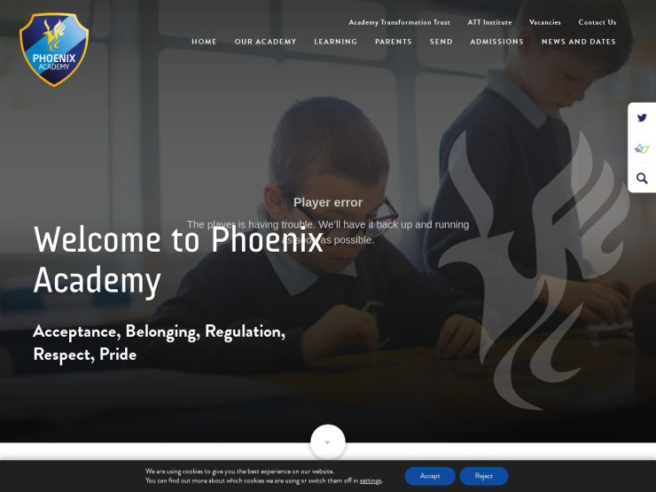 Phoenix Academy reviews and contact