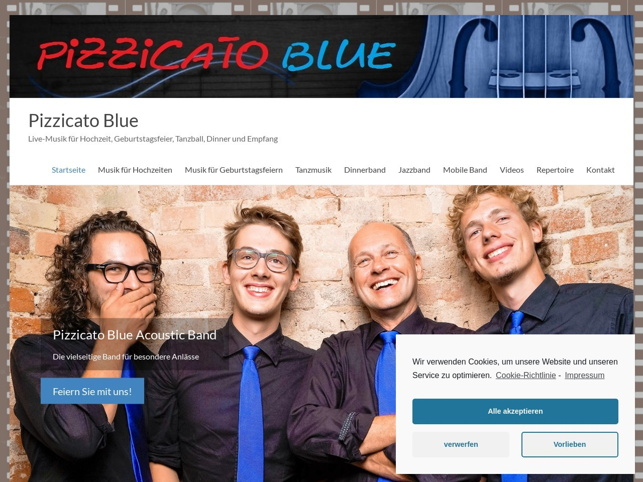 Pizzicato Blue Acoustic Band