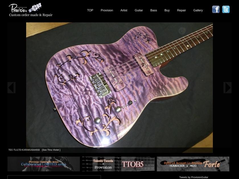 プロビジョンギター