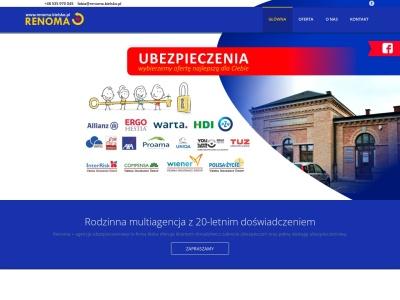 ubezpieczenia bielsko, Renoma+ Agencja Ubezpieczeniowa