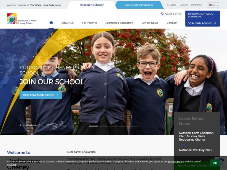 Rodbourne Cheney Primary School reviews and contact