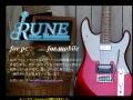 Rune Guitar Maintenance