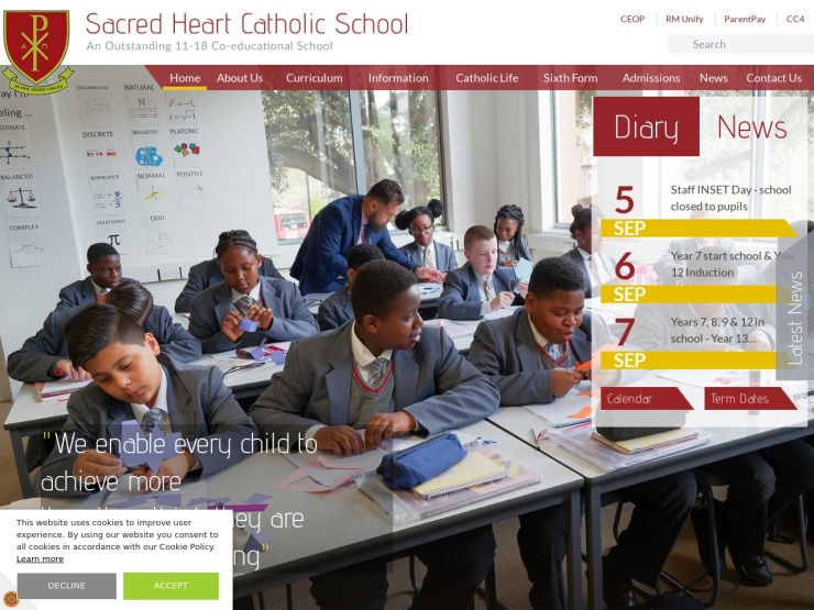 Sacred Heart Catholic School reviews and contact