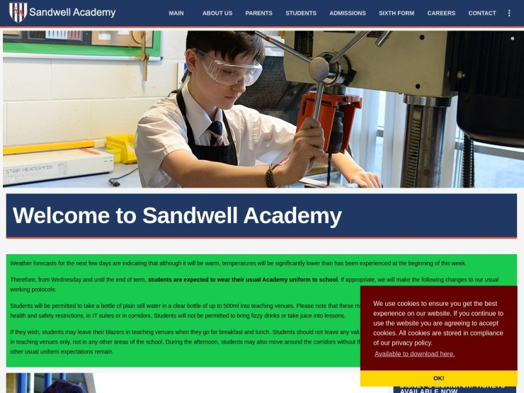 Sandwell Academy reviews and contact