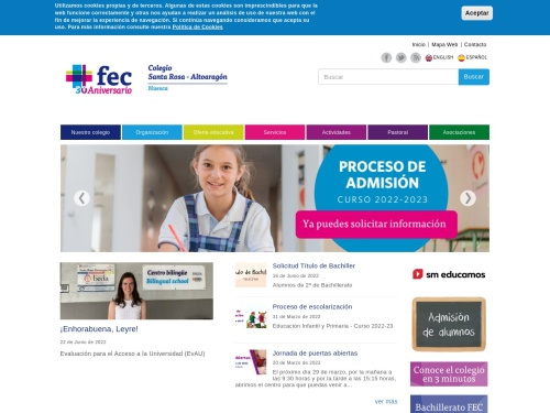 Opiniones sobre  Colegio Santa Rosa Altoaragón