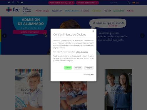 Opiniones sobre  Colegio Santo Angel De La Guarda